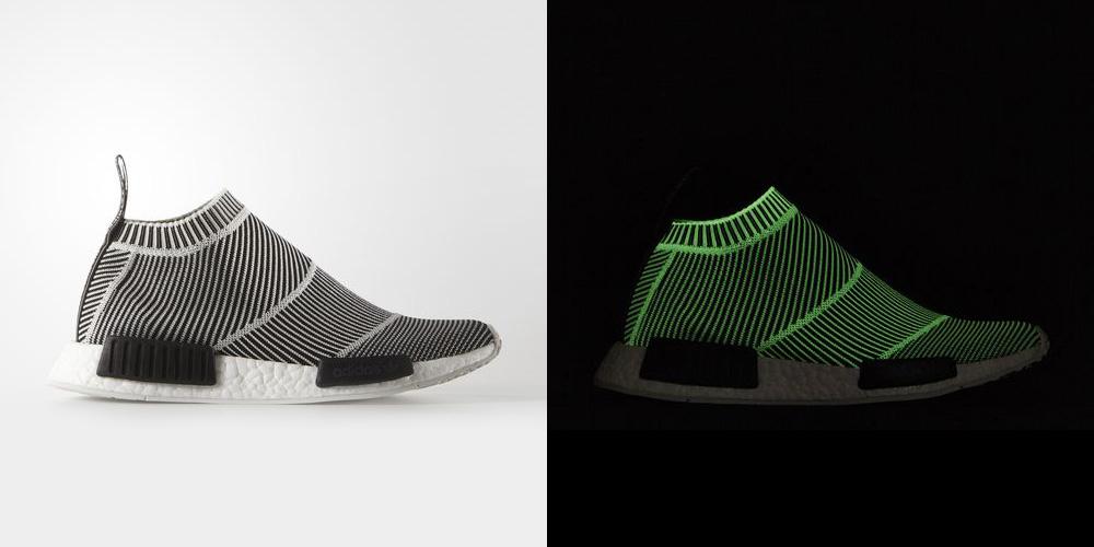 Adidas NMD CS1 Primeknit Black White