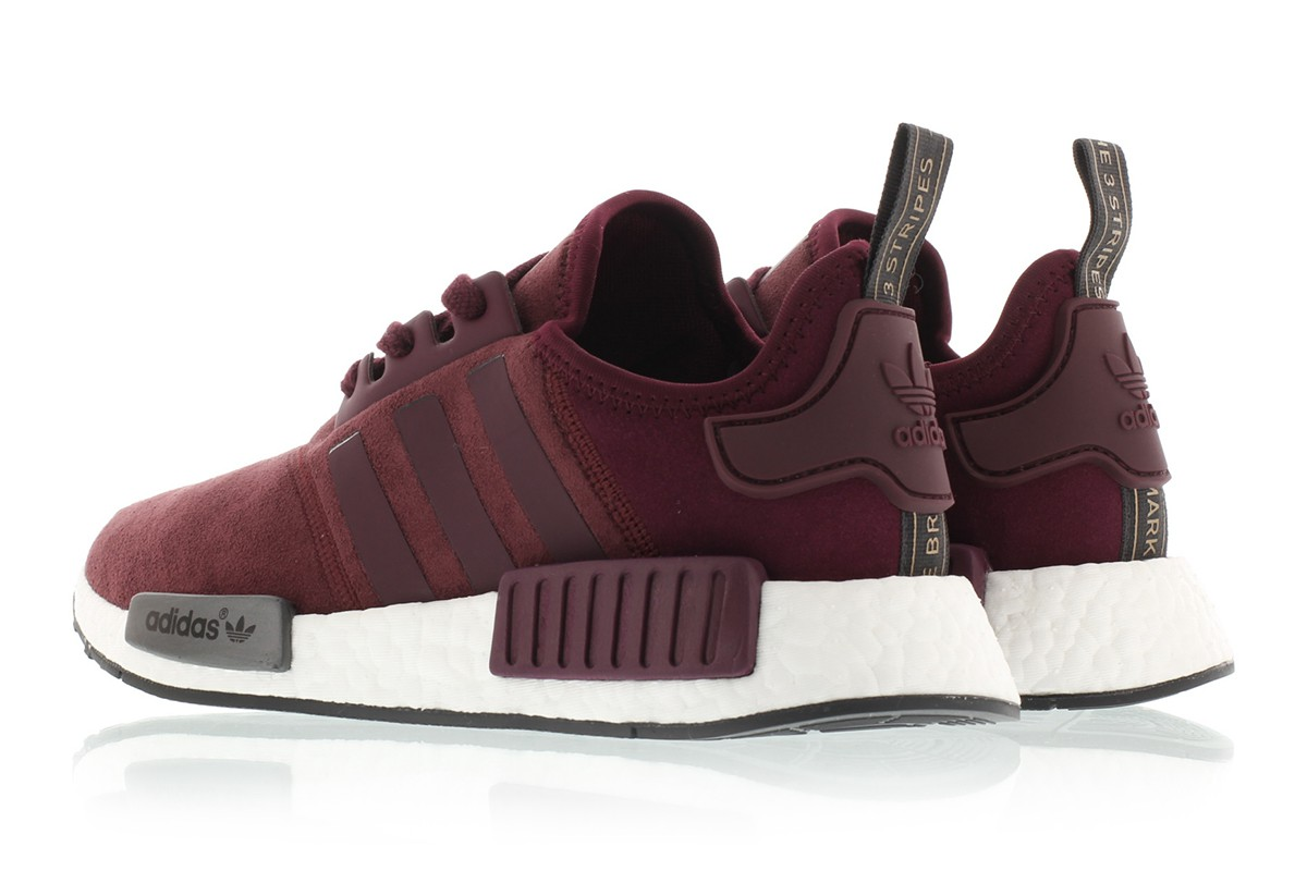 Adidas NMD R1 Suede Power Red
