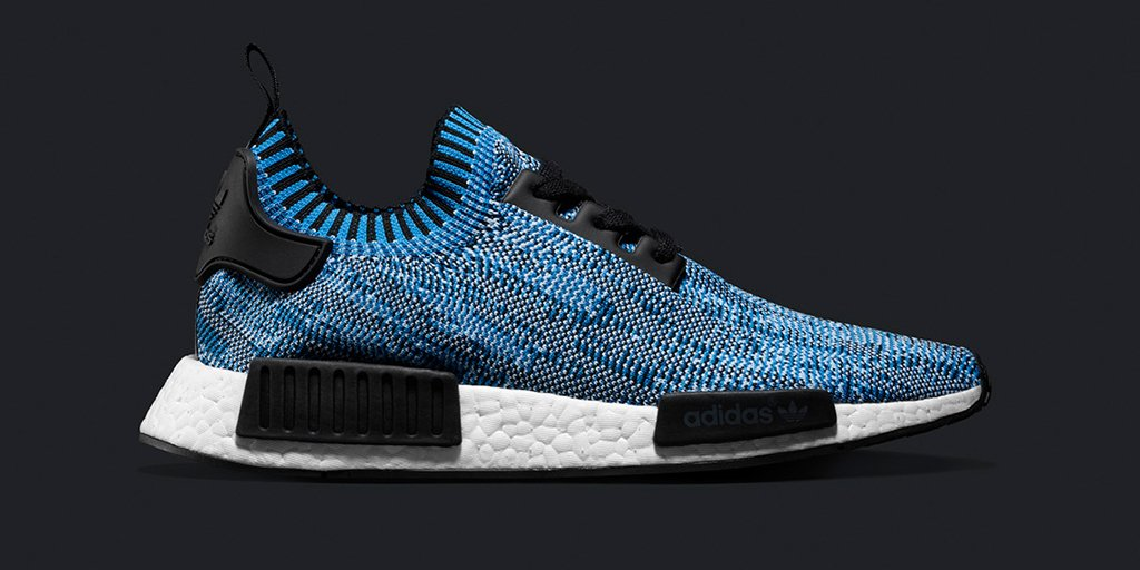 Adidas Nmd R1 Primeknit Blue Camo Next Level Kickz