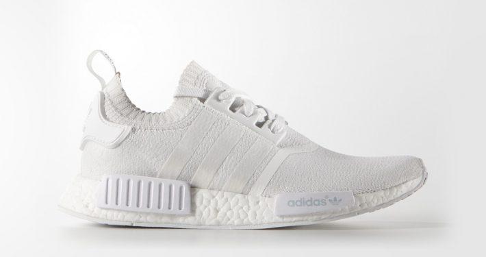 Adidas NMD R1 Primeknit White