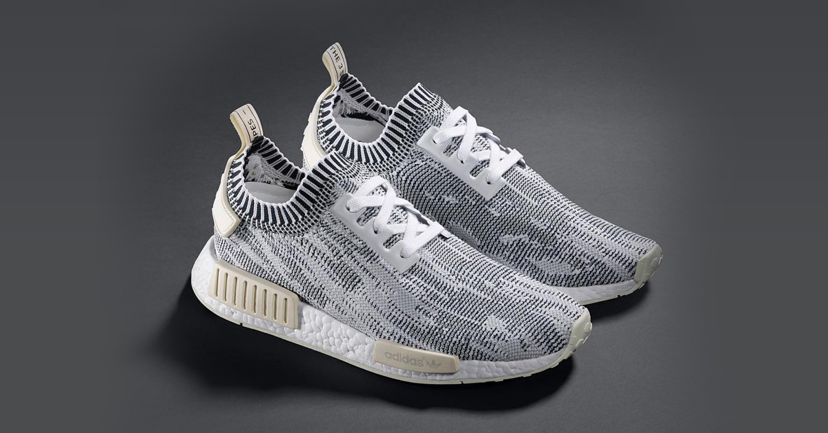 Adidas Nmd R1 Primeknit White Camo Next Level Kickz