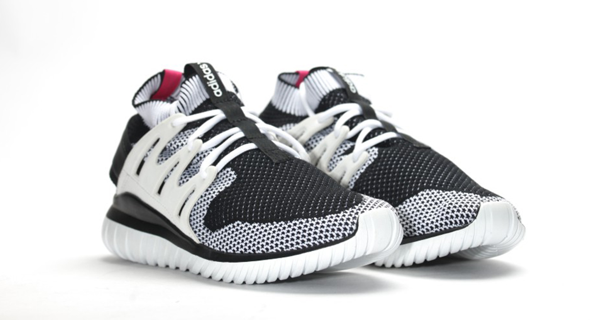 Adidas Tubular Nova Primeknit White Black
