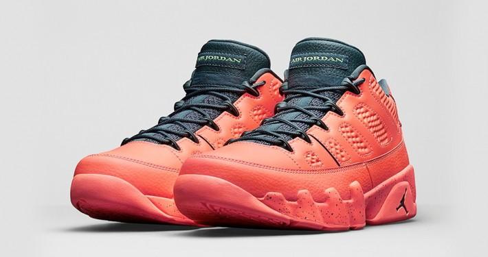 Nike Air Jordan 9 Retro Low Bright Mango