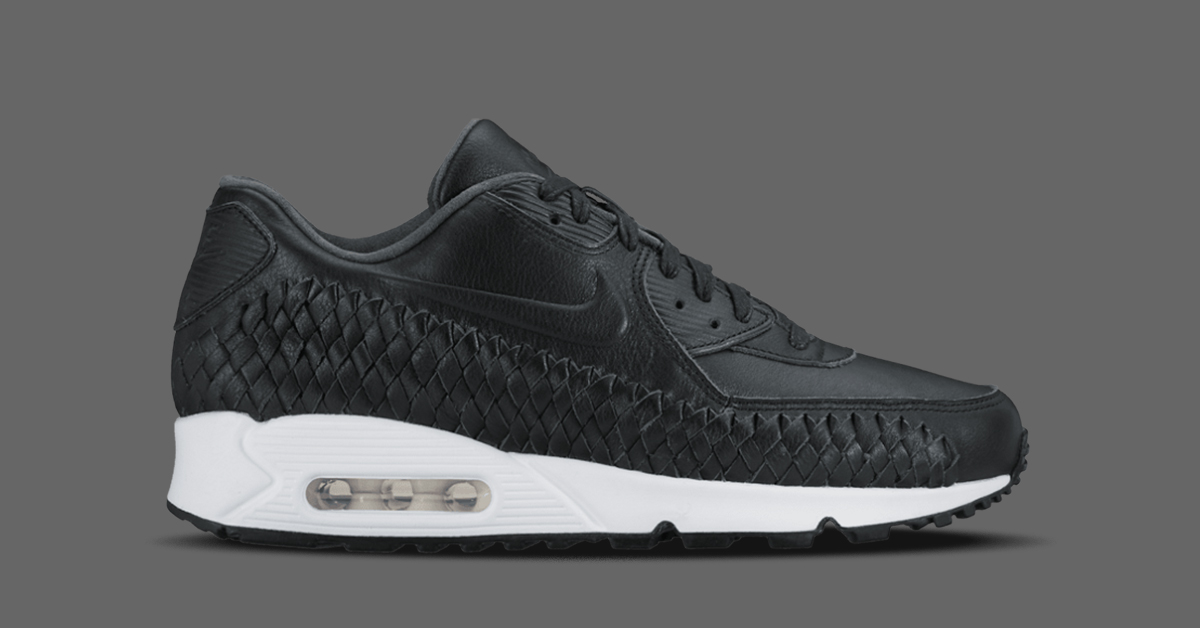huge selection of 1b8e0 5b433 ... discount nike air max 90 woven black 6fe8a 8ca67