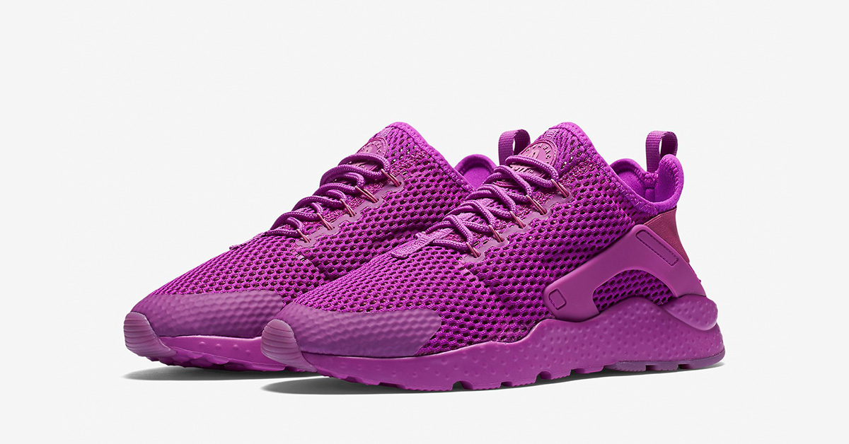 the best attitude f7be6 15f2a ... cheap nike air huarache ultra br hyper violet 95151 661f4