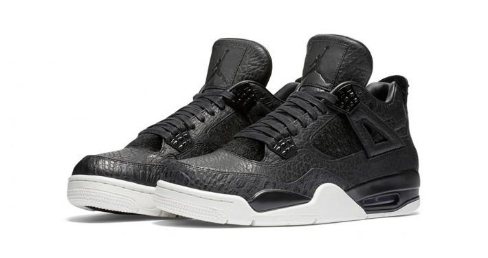 Nike Air Jordan 4 Premium Black