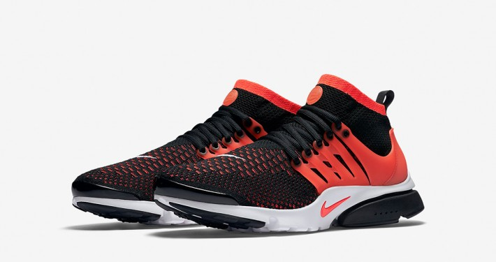Nike Air Presto Ultra Flyknit Black Crimson