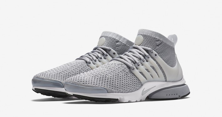 Nike Air Presto Ultra Flyknit Wolf Grey