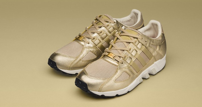 Sneakersnstuff x Adidas Equipment Running Guidance All Gold