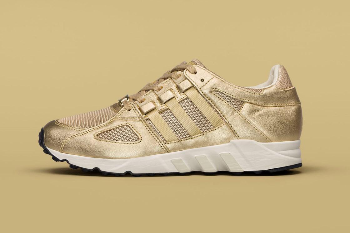 Sneakersnstuff x Adidas Equipment Running Guidance All Gold