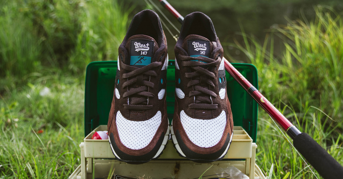 WEST NYC x Saucony Shadow 6000