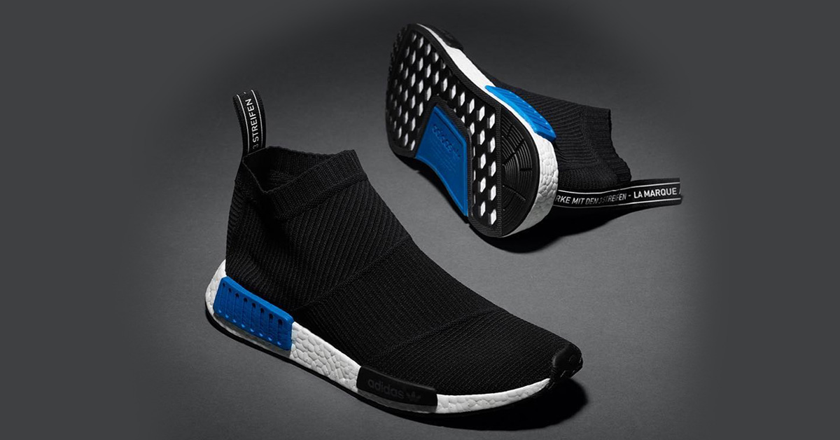 Adidas NMD CS1 Primeknit Black Blue