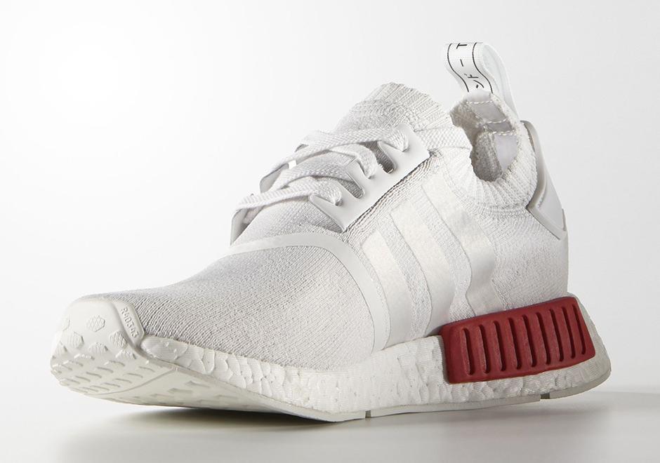 Adidas NMD Primeknit White OG