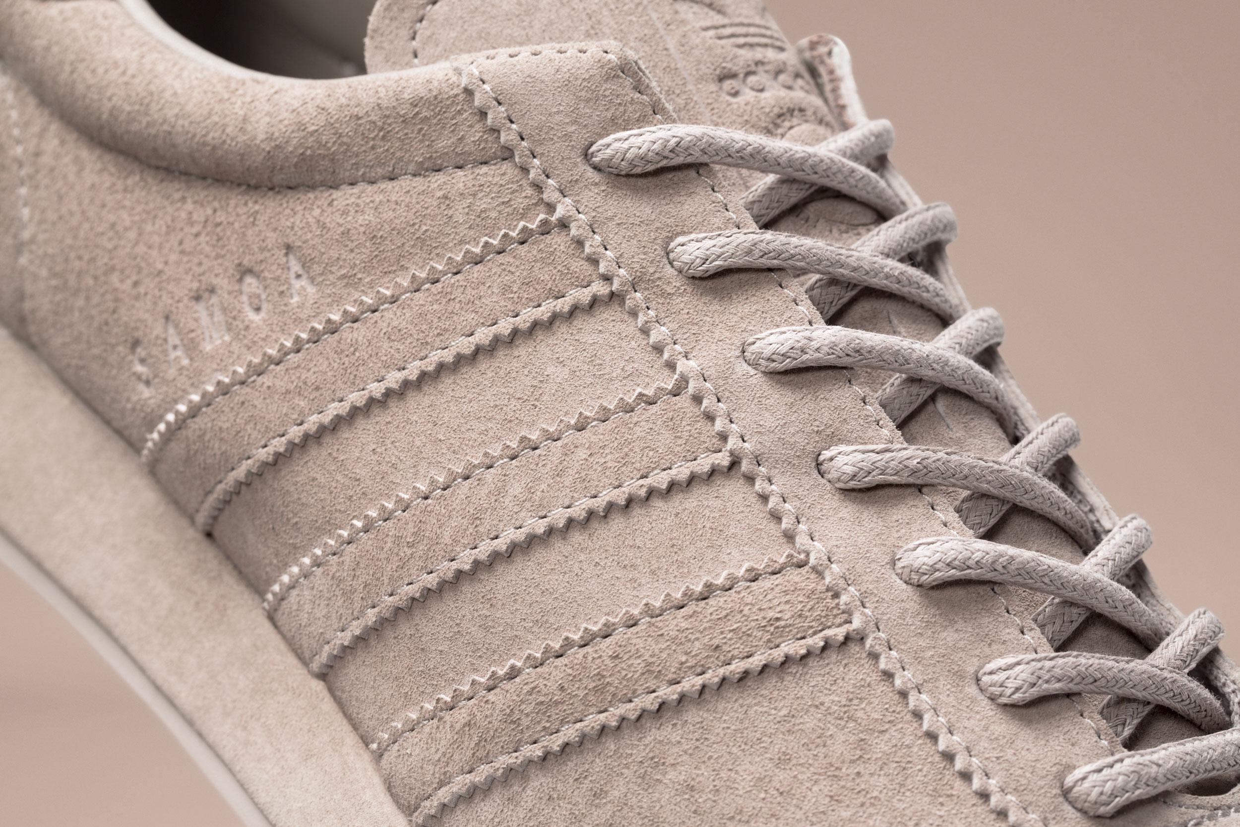 Adidas Samoa Pigskin Pack Vapour Grey