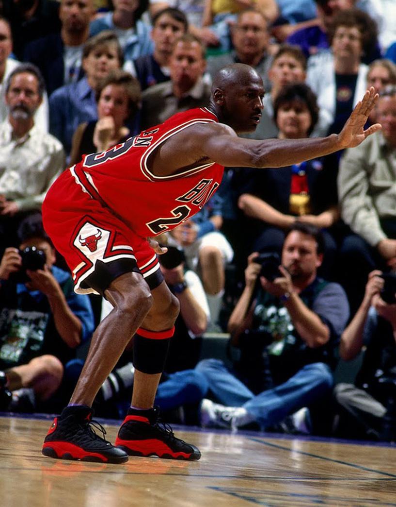Michael Jordan 'Flu Game'