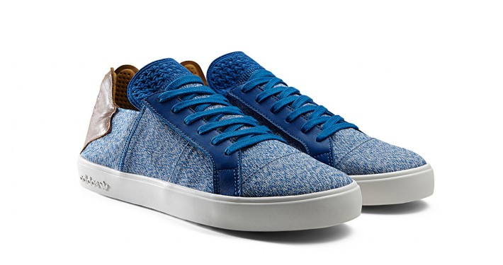 Pharrell x Adidas Pink Beach Lace Up Blue