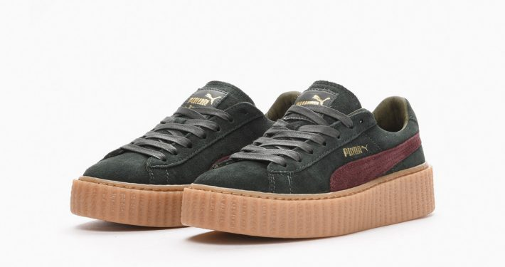 Rihanna x Puma Creeper Green Bordeaux