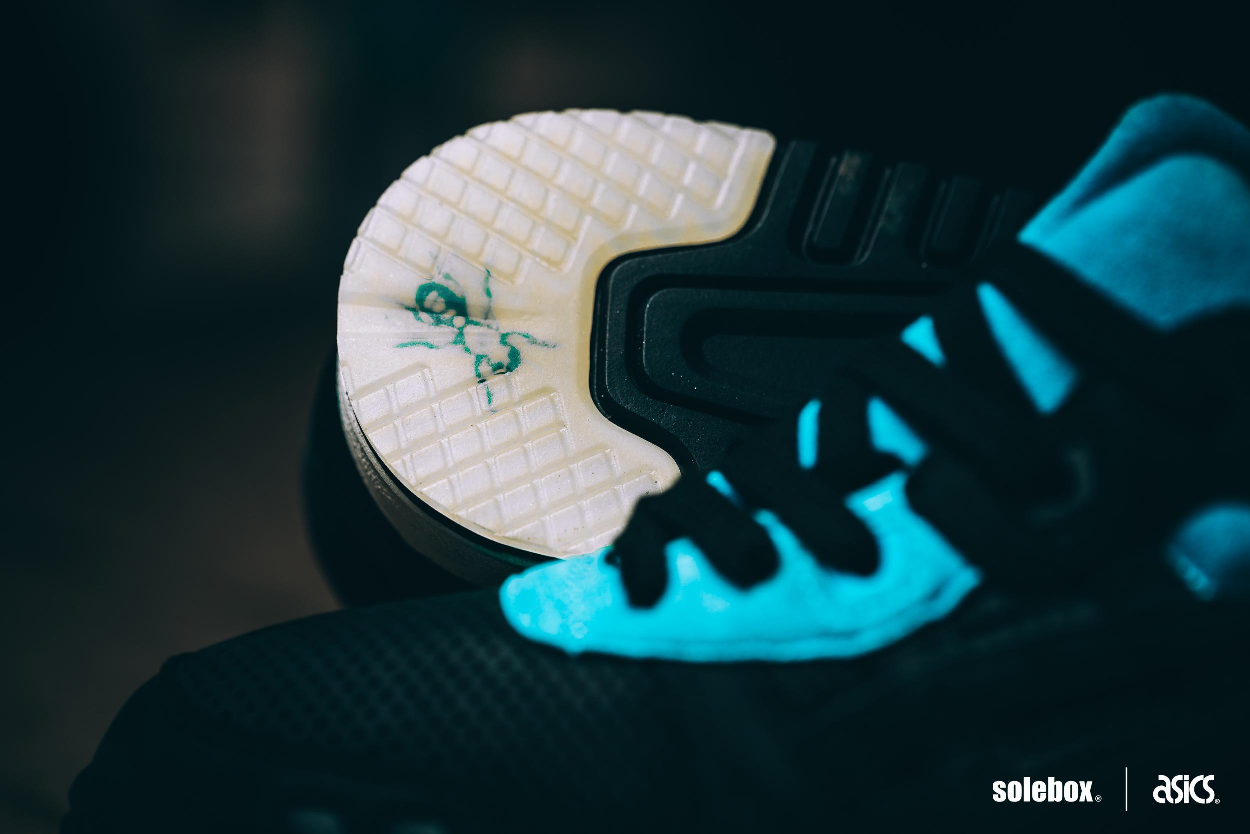 Solebox x Asics Gel-Lyte III Blue Carpenter Bee