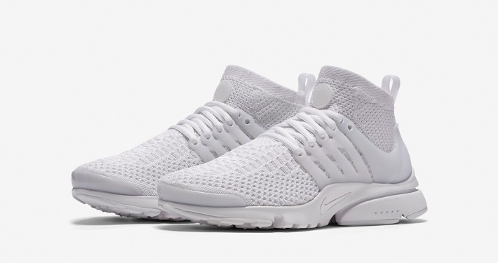 Nike Air Presto Ultra Flyknit White Womens