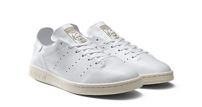 Adidas Stan Smith Leather Sock White