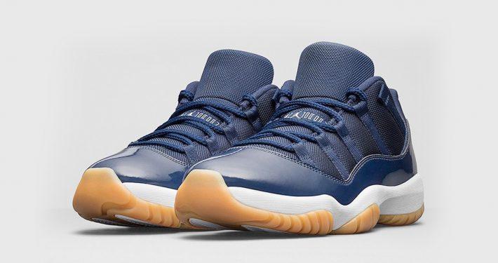 Nike Air Jordan 11 Low Midnight Navy