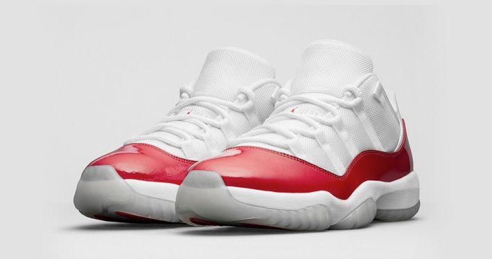 Nike Air Jordan 11 Retro Low Varsity Red