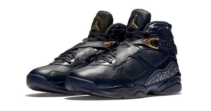 Nike Air Jordan 8 Retro Black Gold