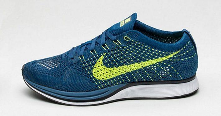 Nike Flyknit Racer Brave Blue