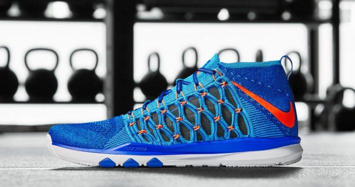 Nike Train Ultrafast Flyknit Racer Blue