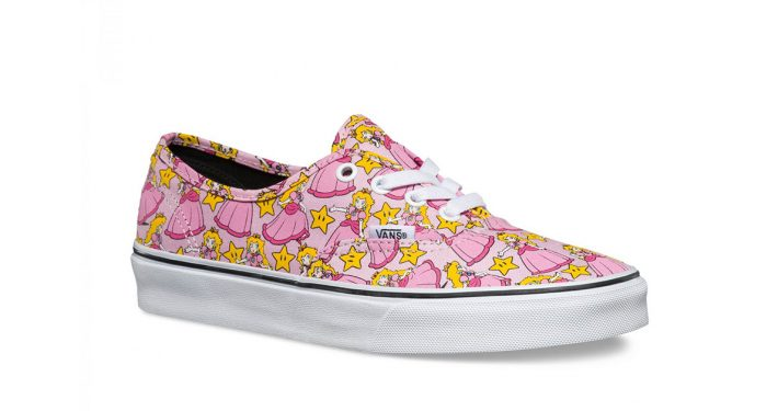 Nintendo x Vans Authentic Princess Peach