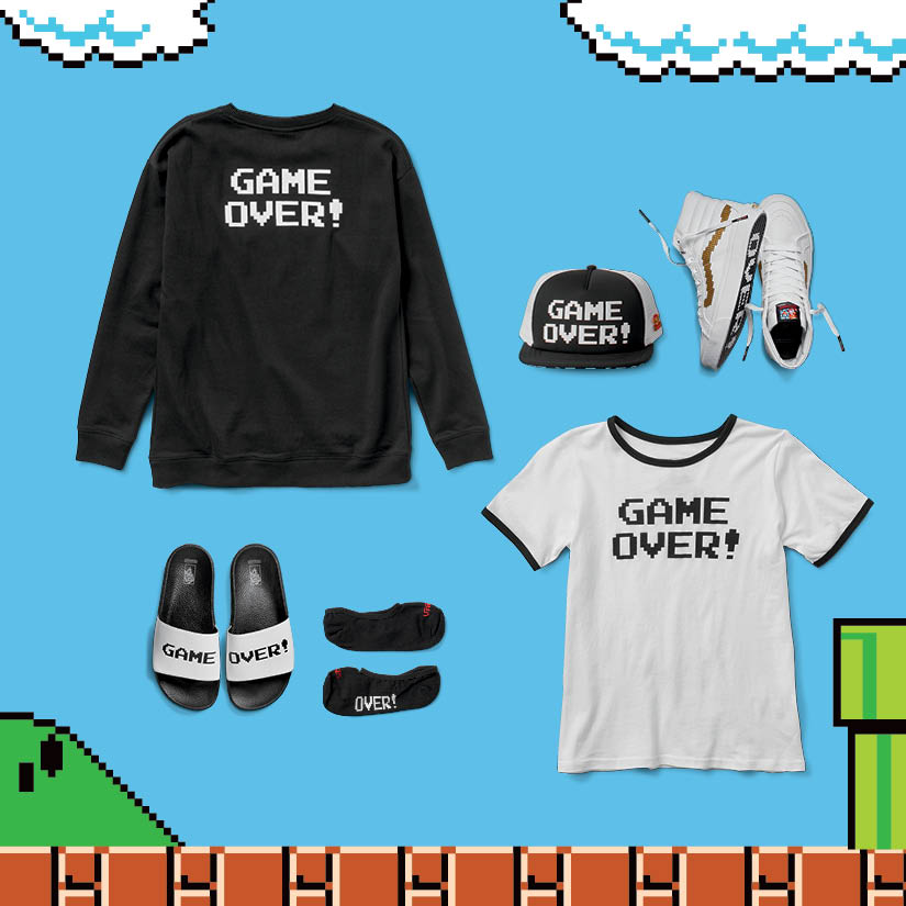 Nintendo x Vans Collection