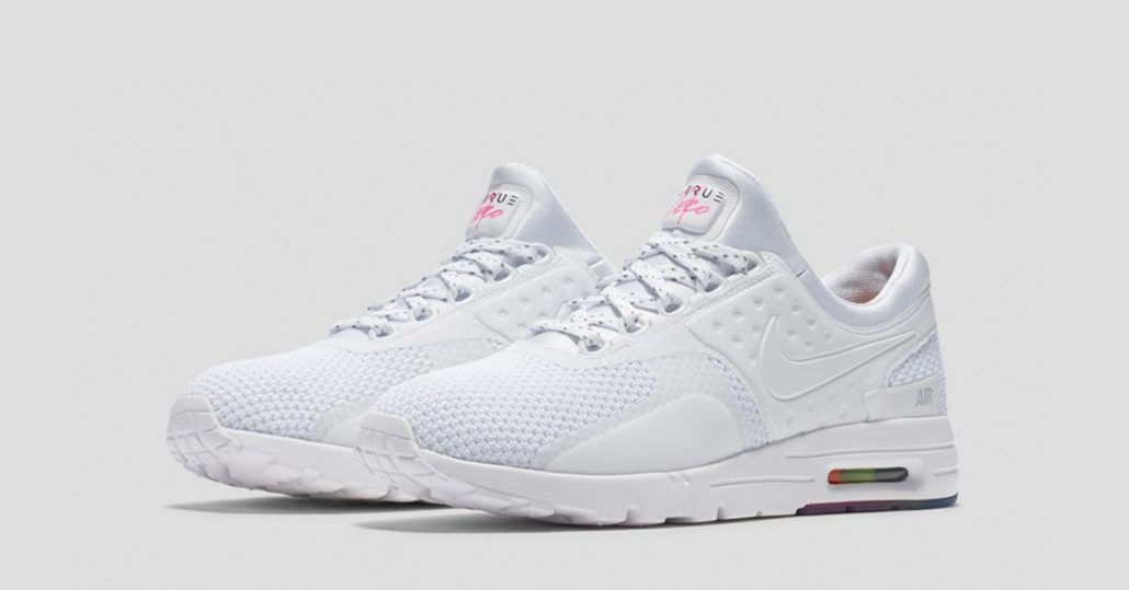 competitive price bd0a6 46c68 Womens Nike Air Max Zero 2016 BeTrue