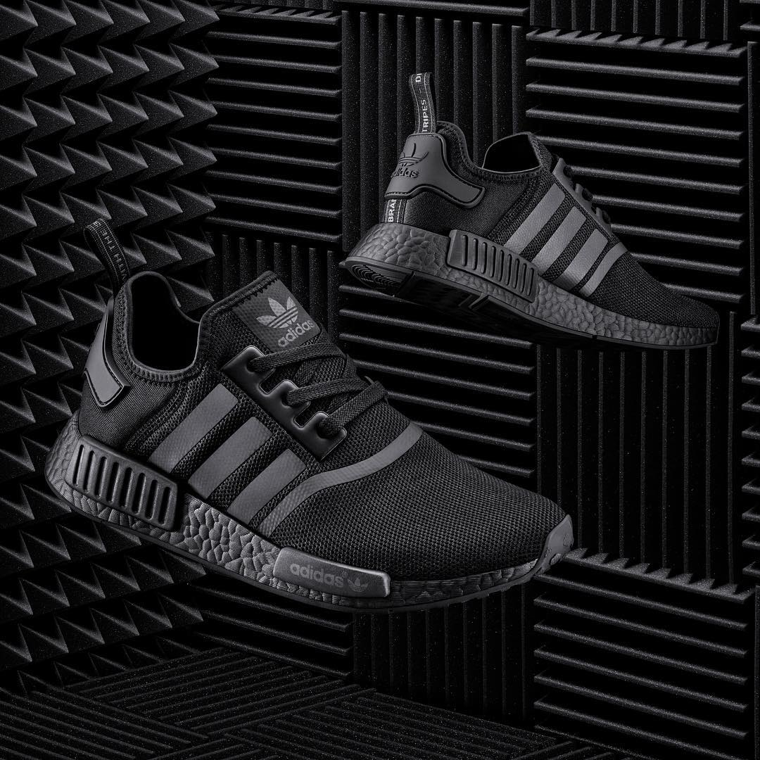Adidas NMD R1 Triple Black