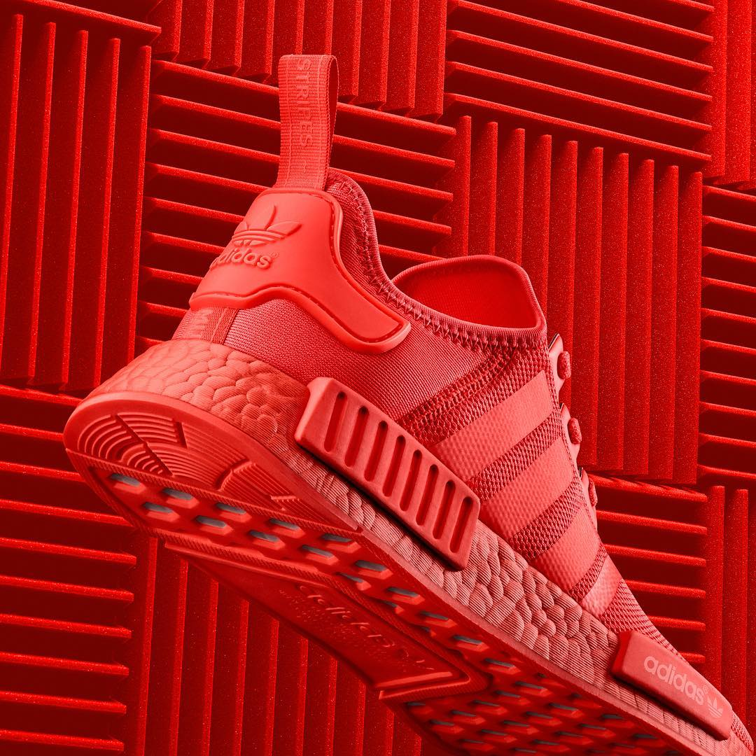 Adidas Nmd R1 Solar Red Next Level Kickz