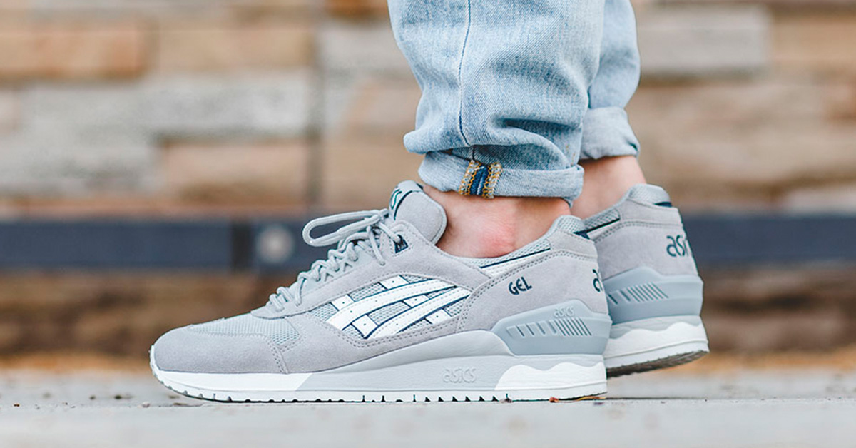 Asics Gel Respector Light Grey