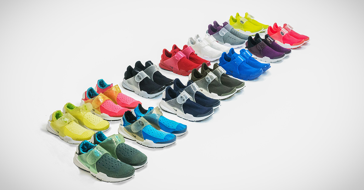 The History of Nike Sock Dart Releases