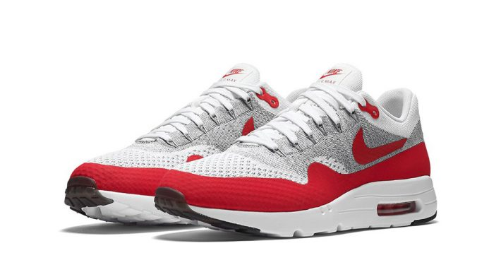 Nike Air Max 1 Ultra Flyknit Sport Red