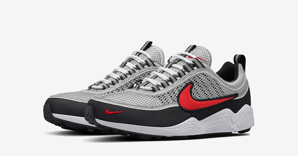 fashion styles cost charm new appearance Nike Air zoom Spiridon Black Red - Next Level Kickz