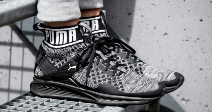 Puma Ignite EvoKnit Black