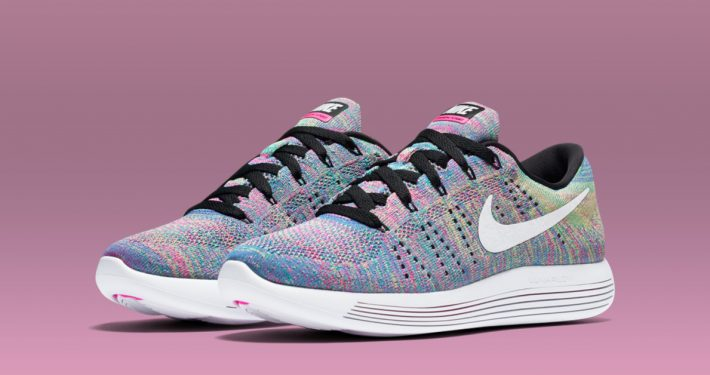 Womens Nike LunarEpic Low Flyknit Multi