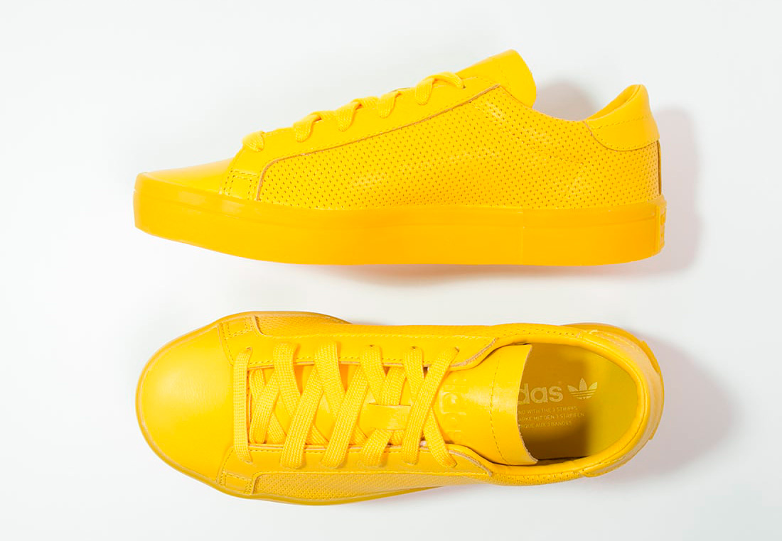 zalando-adidas-courtvantage-adicolor-yellow