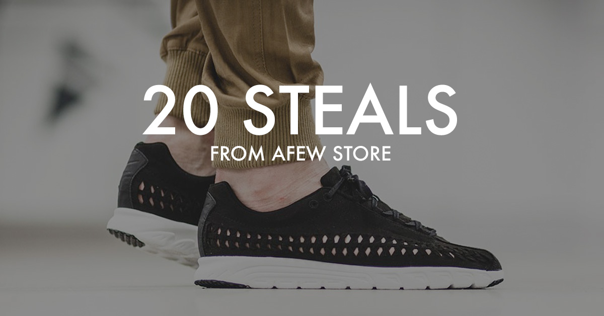 20 Sneaker Steals from Afew Store