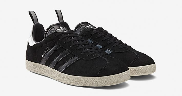 Adidas Gazelle Core Black Ostrich