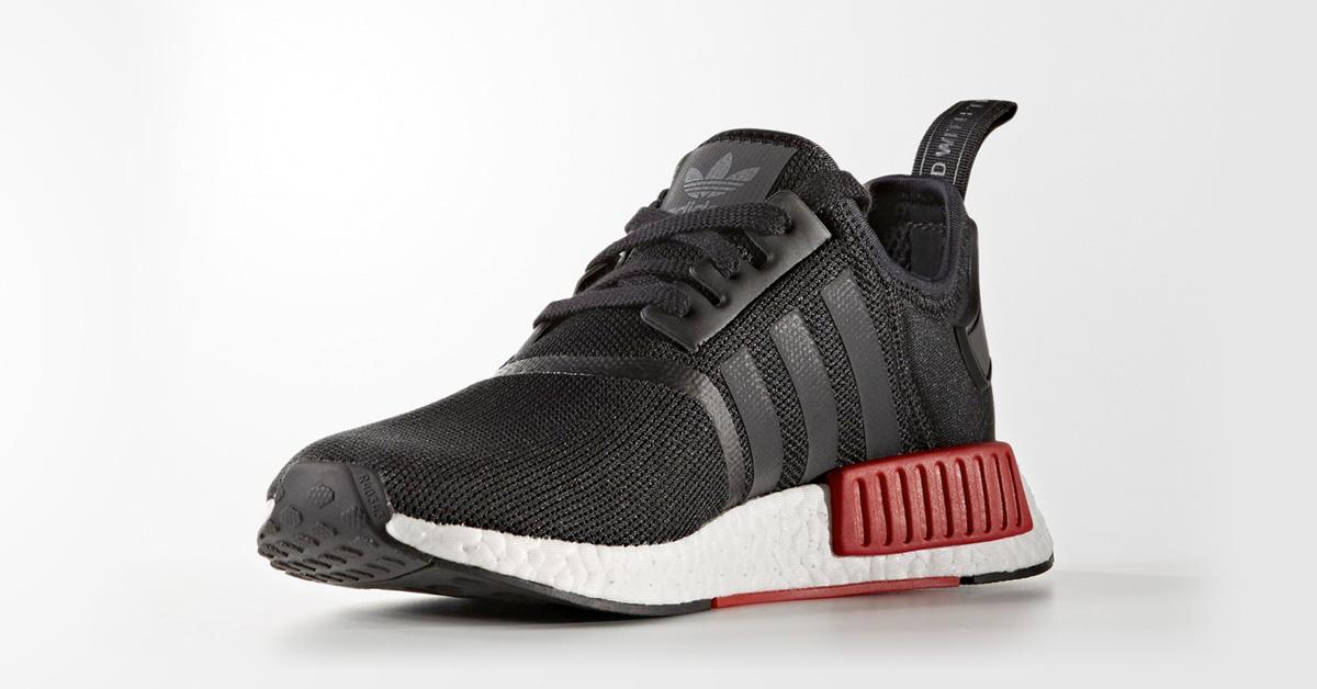 Adidas NMD R1 Black Red