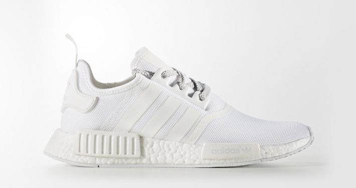 Adidas NMD R1 White Reflective