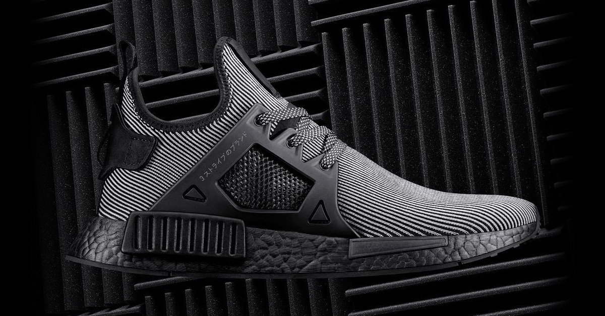 Adidas Nmd Xr1 Black Pinstripe Next Level Kickz