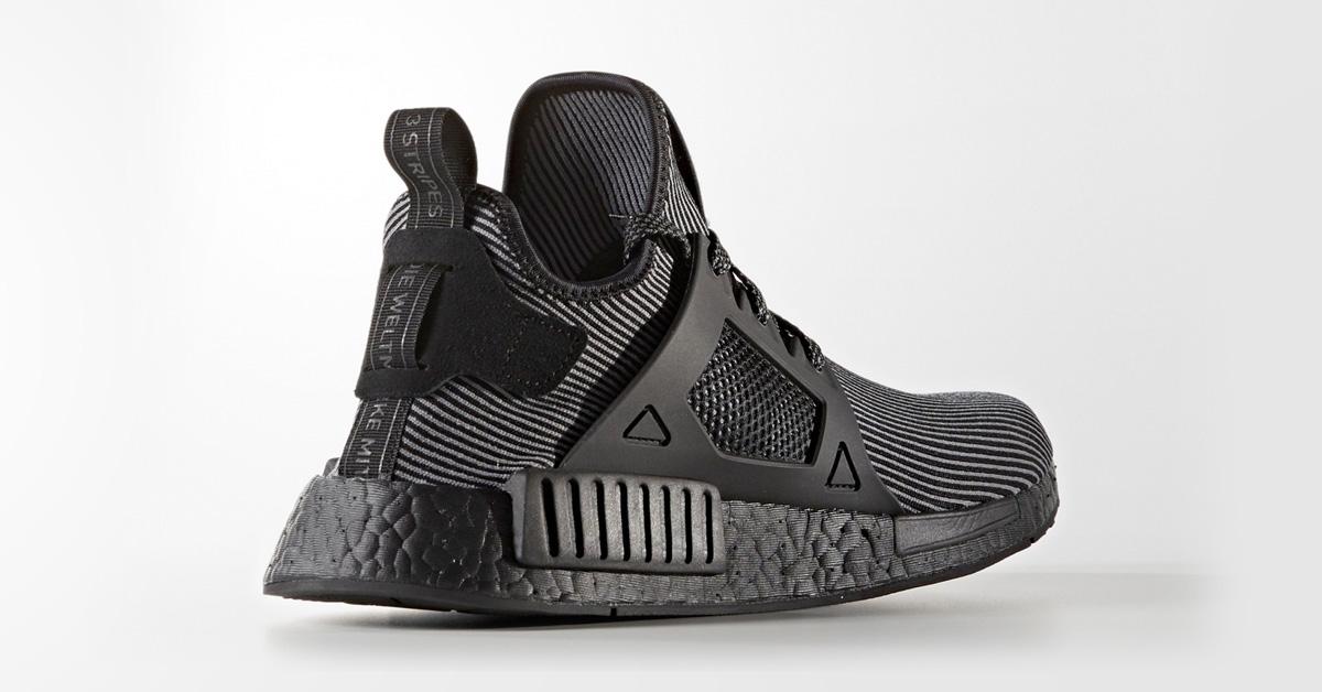Adidas NMD XR1 Primeknit Core Black