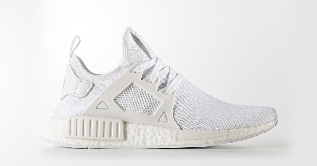 rozmiar 7 przytulnie świeże niskie ceny Adidas NMD XR1 Primeknit White - Next Level Kickz