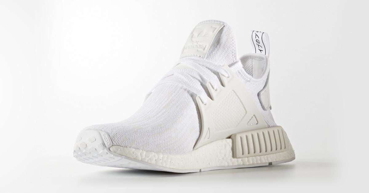 Adidas NMD XR1 Primeknit White