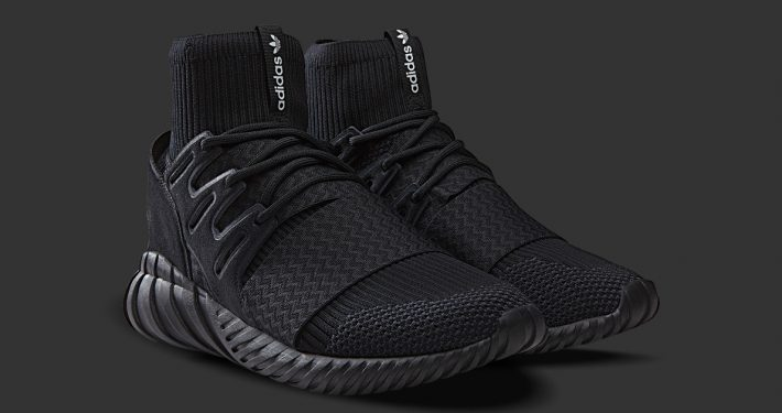 Adidas Tubular Doom Primeknit Triple Black